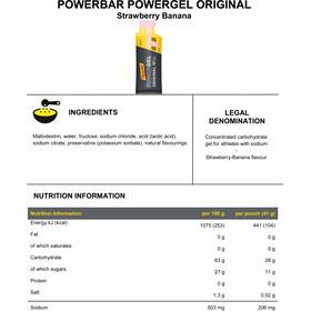PowerBar PowerGel Original Box 24x41g, Strawberry-Banana